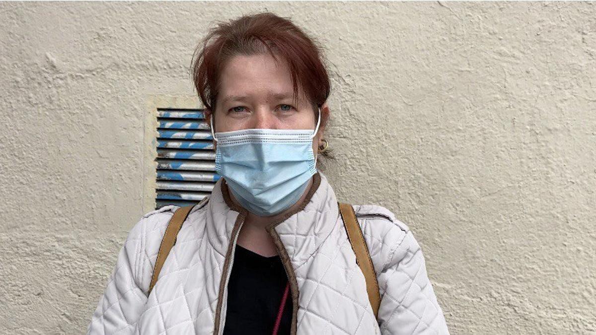Irina, afectada por la precariedad y el precio de la vivienda