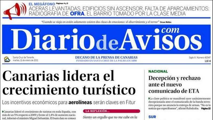 De las portadas del día (11/01/11) #3