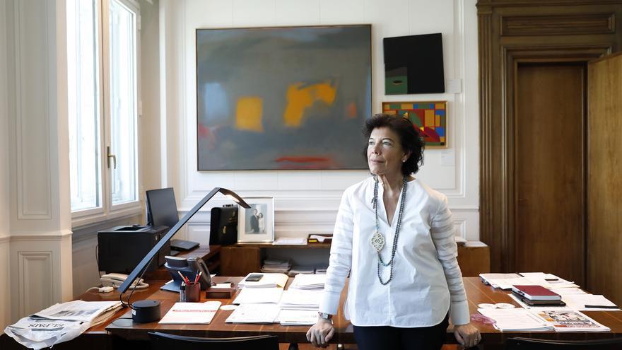 Isabel Celaá, ministra de Educación y Formación Profesional y portavoz del Gobierno