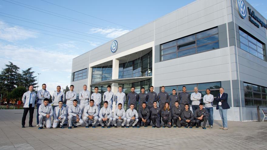 X Promoción de Aprendices de Volkswagen Navarra.