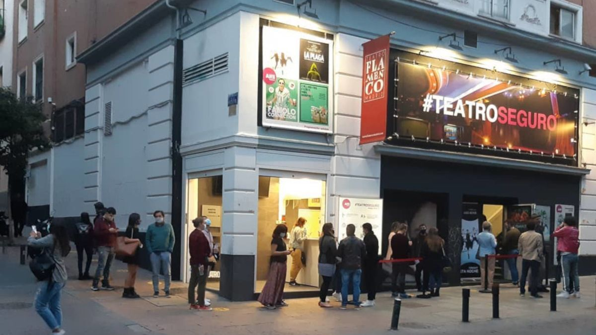 Imagen actual del Teatro Alfil