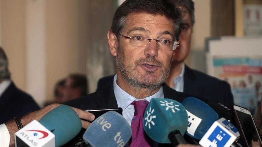 Catalá sobre detención de Puigdemont: cualquier decisión la tomará un juez