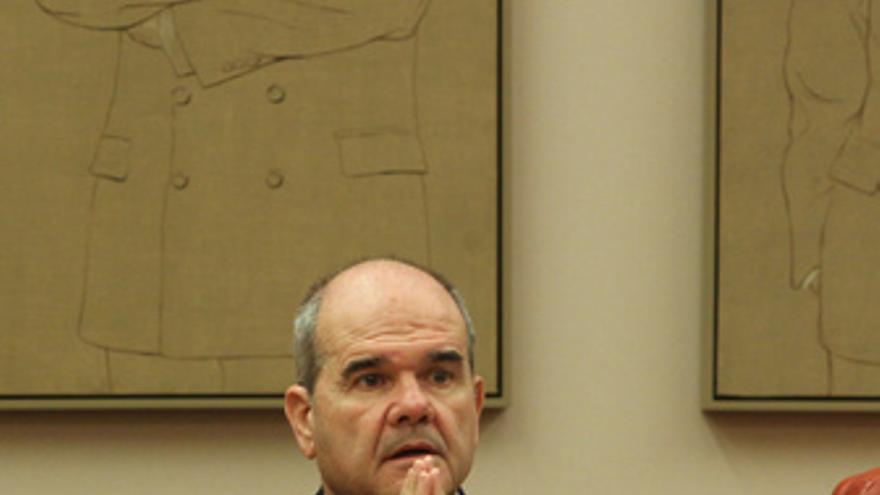 Manuel Chaves, en la comisión del Congreso
