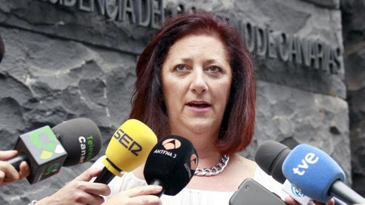 Doris Borrego, presidente del Círculo Turístico de Canarias (CTC)