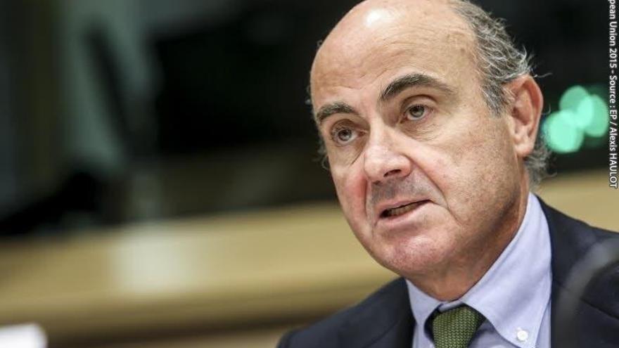 El vicepresidente del BCE Luis de Guindos.
