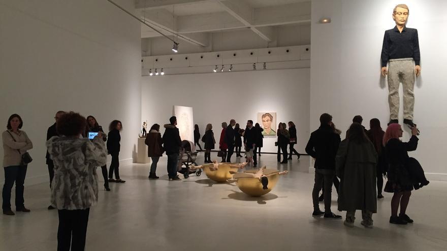 Imagen de una exposición en el CAC