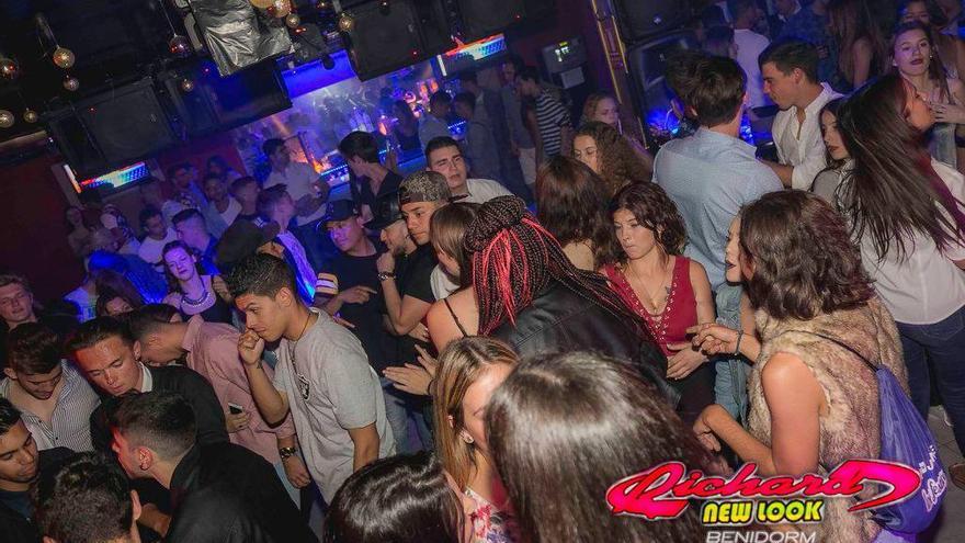 Una imagen de la discoteca Richard New Look sacada de su Facebook