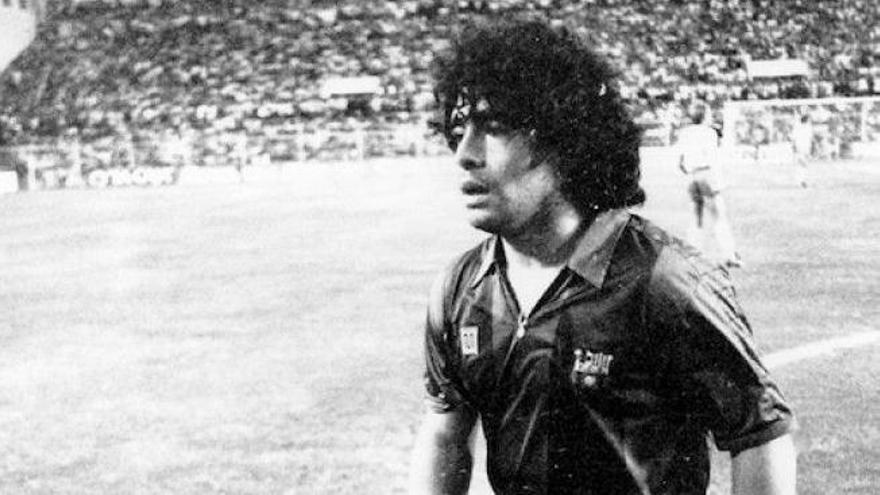 Maradona fue seguido por Las Palmas y Tenerife, pero ninguno se decidió a ficharlo
