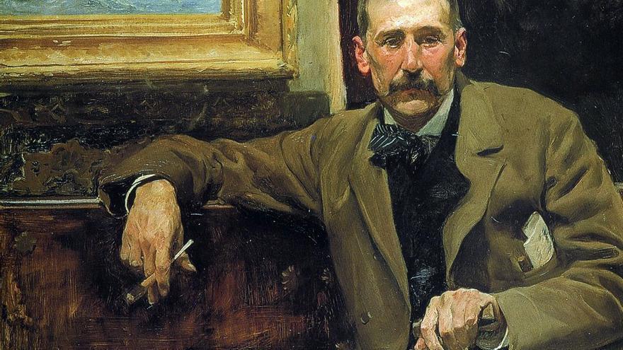 'Retrato de Benito Pérez Galdós', de Joaquín Sorolla.