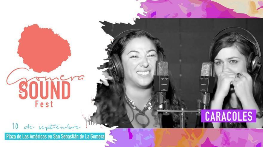El grupo Caracoles, que actuará este sábado en el Gomera Sound Fest