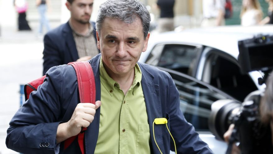 El nuevo ministro de Finanzas griego, Euclid Tsakalotos, el pasado lunes en Atenas / Petros Karadjias (AP Photo)