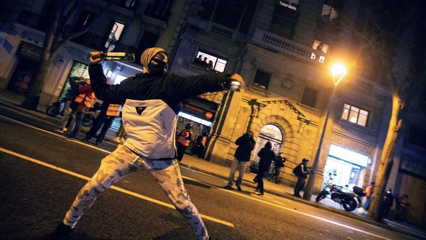 Las protestas en Barcelona y Vilanova registraron 4 heridos leves