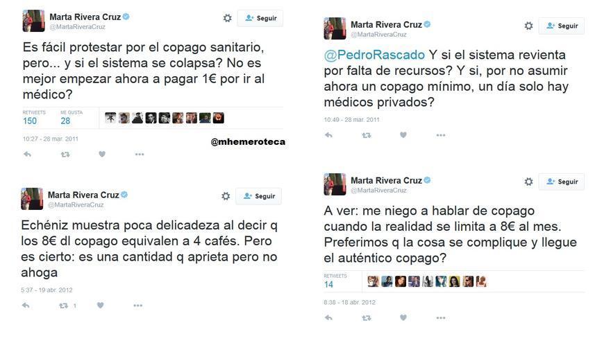 Marta Rivera de la Cruz copago