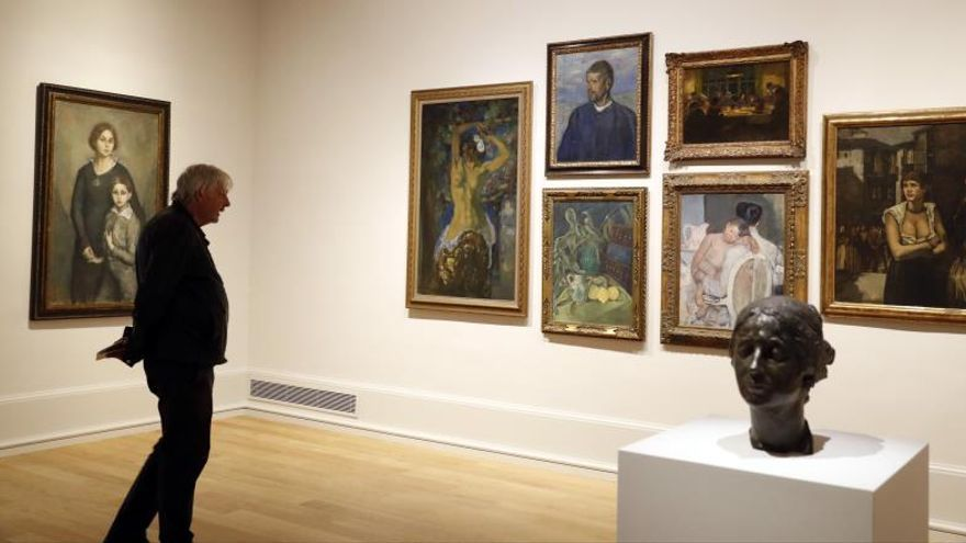 El Bellas Artes exhibe juntas las 22 obras compradas en la Exposición de 1919