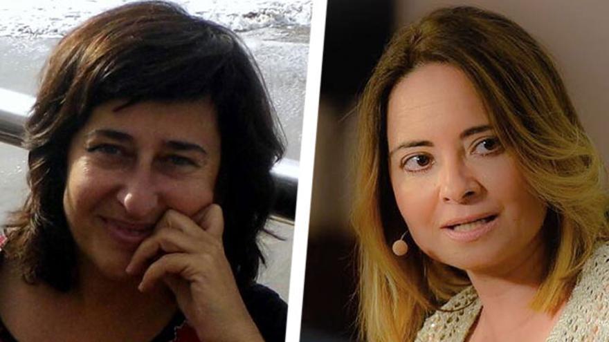 Marta Cantero y Carmen Zamora.
