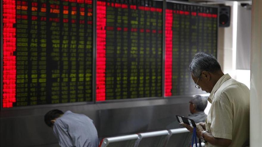 La Bolsa de Shanghái abre un 0,08 por ciento al alza