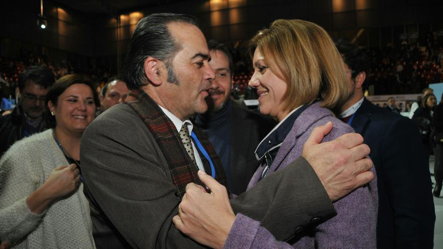 Cospedal con José Julián Gregorio, candidato a presidir el PP de Toledo