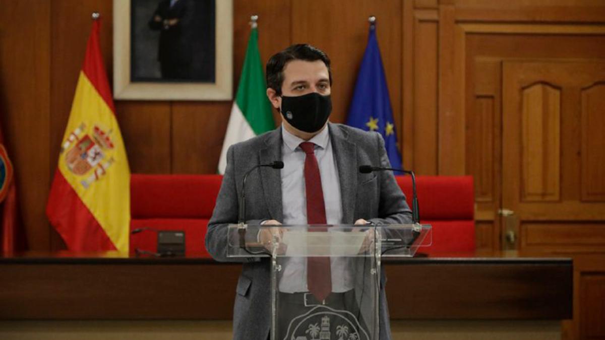 El alcalde, José María Bellido.