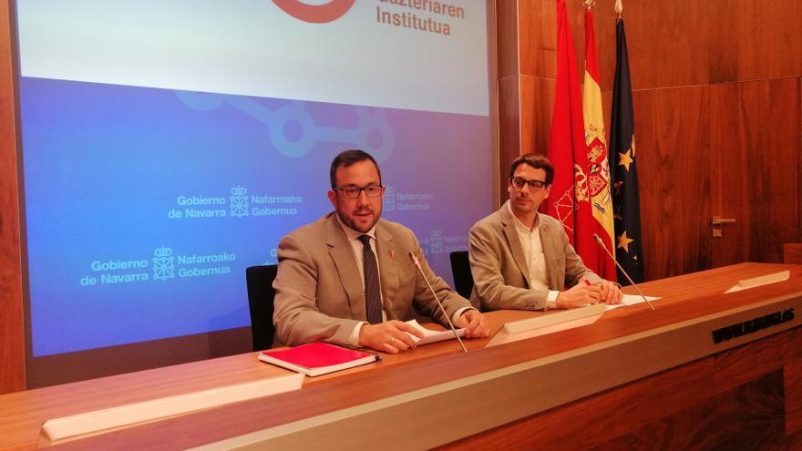 Archivo - Javier Remírez y Carlos Amatriain