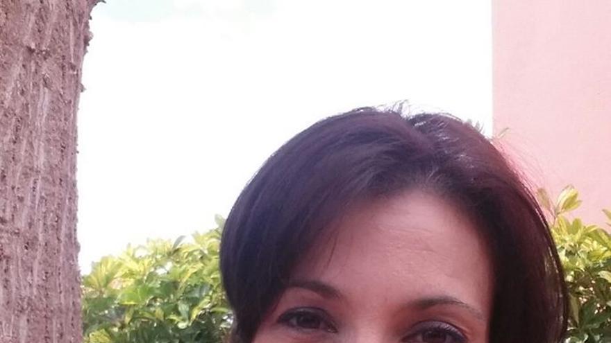 Yesica Flores, candidata del Partido Verde Canario al Ayuntamiento de Las Palmas de Gran Canaria.