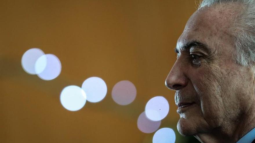 Temer afirma que la corrupción le restó tiempo al Gobierno y al propio Brasil