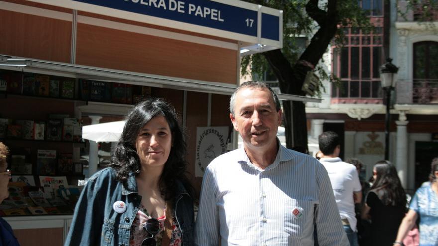 Esther Moreno y Joan Baldoví en Toledo