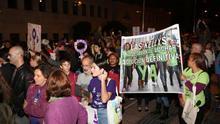 La manifestación contra la violencia de género en Gran Canaria recuerda la lucha de Las Kellys.