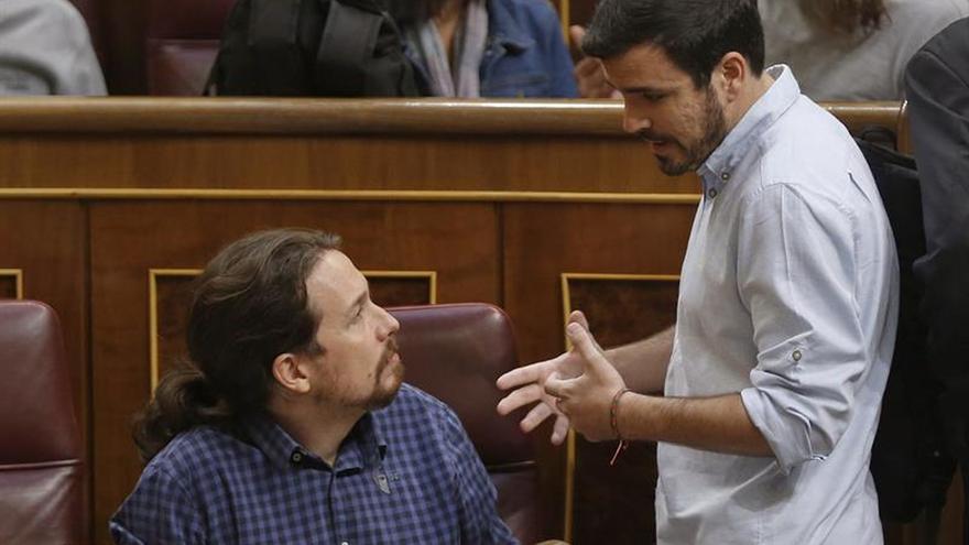 Garzón retoma su actividad política después de casi tres semanas de baja