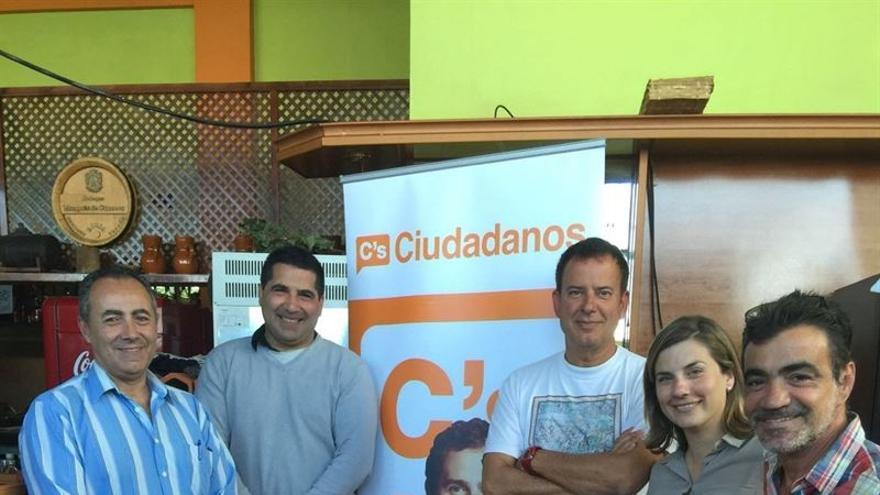 Agrupación de Ciudadanos en la isla de El Hierro.