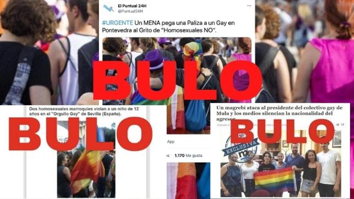 Bulos que conectan de forma falsa la inmigración con ataques homófobos