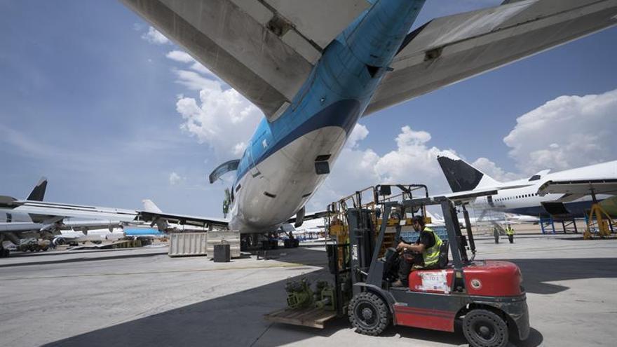 Teruel tiene un aeropuerto con aviones, éxito y futuro