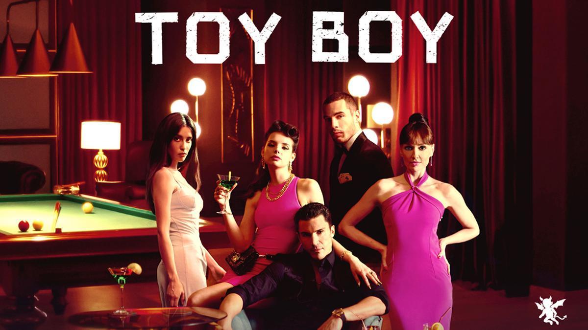 Cartel de la segunda temporada de 'Toy Boy'