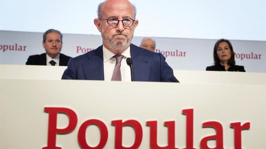 El Banco Popular pierde 137 millones hasta marzo por provisiones inmobiliarias