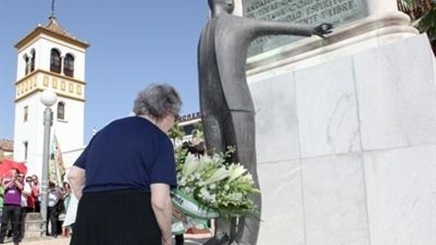 La familia de García Caparrós participa este jueves en el homenaje a Blas Infante por el aniversario de su fusilamiento