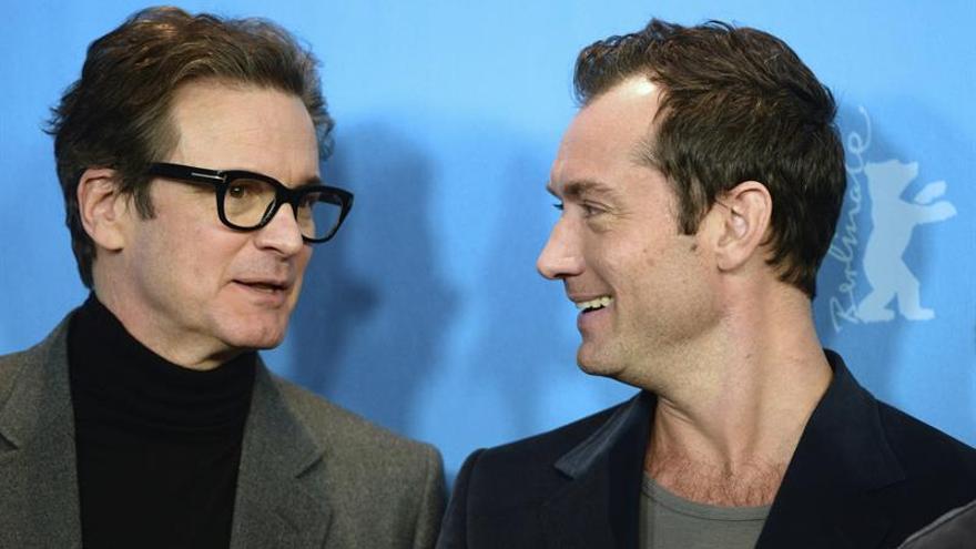 """Colin Firth y Jude Law mantienen un idilio literario en """"El editor de libros"""""""