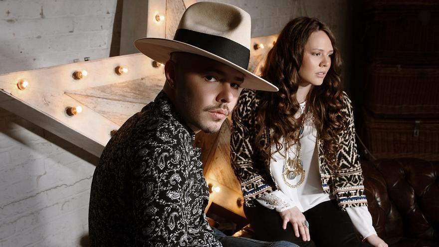 En la imagen, el dúo Jesse & Joy.