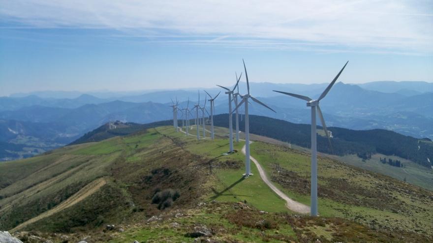 Registradas rachas de viento de 121 km/h en Orduña (Bizkaia), 114,7 km/h en Matxitxako y 89,6 km/h en Deusto