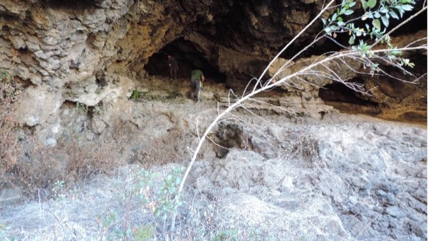 Gigantesca cueva natural de habitación en el Caboco de Aroche (Los Llanos de Aridane).