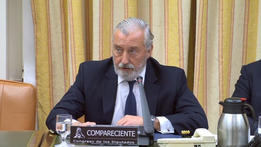 Julio Gómez-Pomar, presidente de Renfe cuando ocurrió el accidente de Angrois