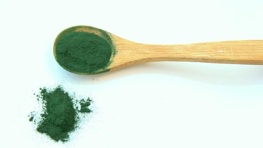 El alga espirulina. Foto: Pixabay
