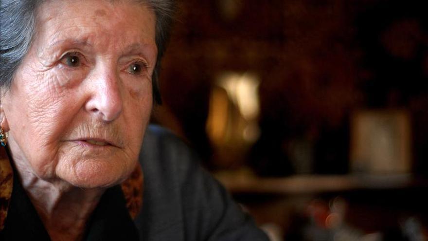 La exiliada republicana Paquita Gorroño celebra su centenario en Rabat