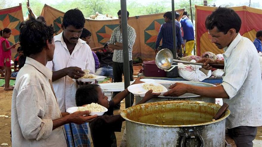 La India, un país de vegetarianos por religión y necesidad
