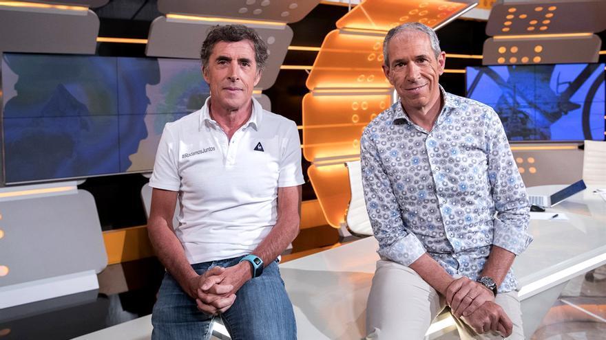 Pedro Delgado y Carlos de Andrés, voces de La Vuelta 2018 en TVE