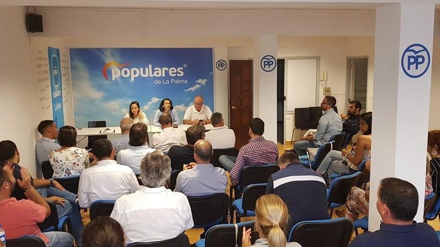 El PP de La Palma  pide flexibilidad fiscal con las palmeros en ERTE