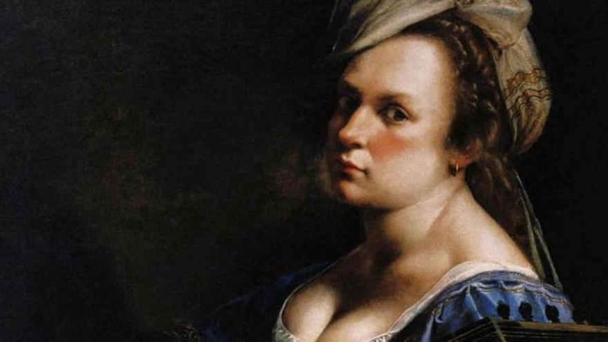 La pintora Artemisia Gentileschi