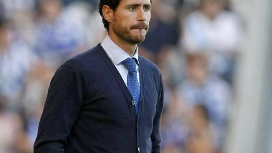 El entrenador del Deportivo de La Coruña, Víctor Sánchez del Amo. (Efe).