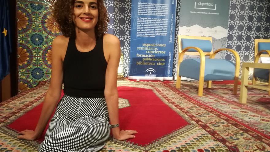 Leila Slimani, en la Fundación Tres Culturas