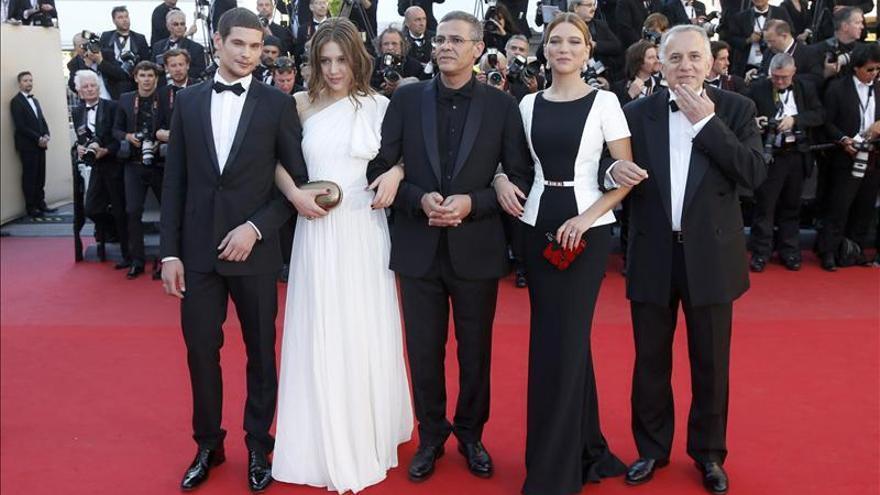 La alfombra roja de Cannes ofrece su última foto