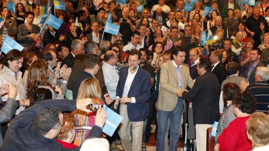 Del acto del PP canario con Rajoy #5