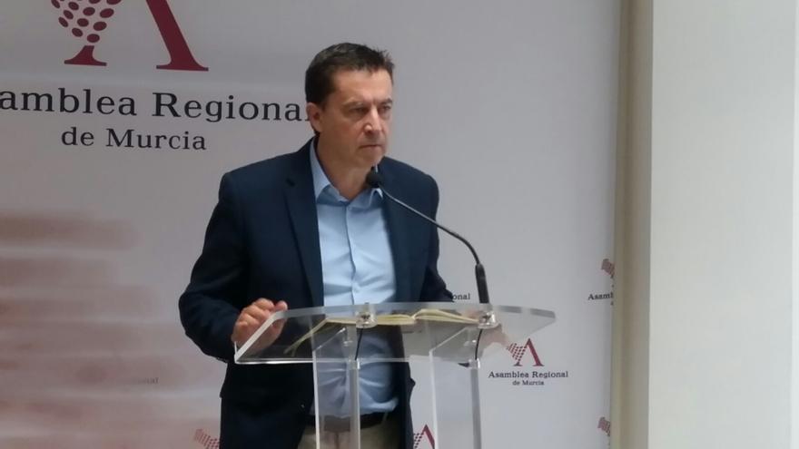 El diputado regional de Ciudadanos Juan José Molina (Murcia)